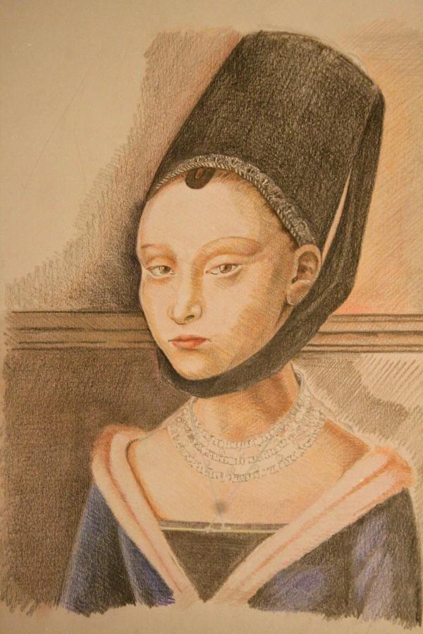 portret van een meisje 01