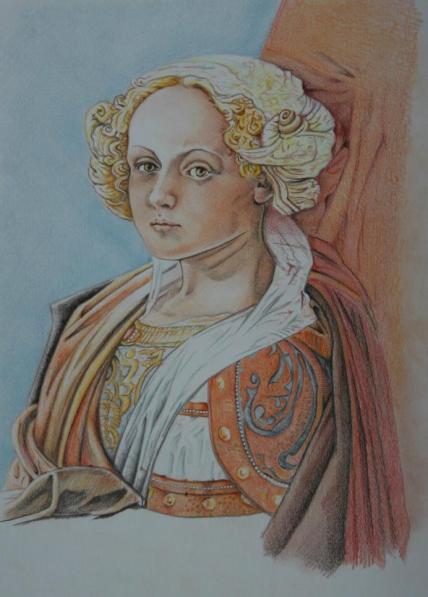 Fra Filippo Lippi Coronation of the Virgin, 1441-47 - klaar klein-