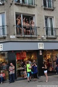 ehm...ja hoor...boven een winkel in de Veldstraat