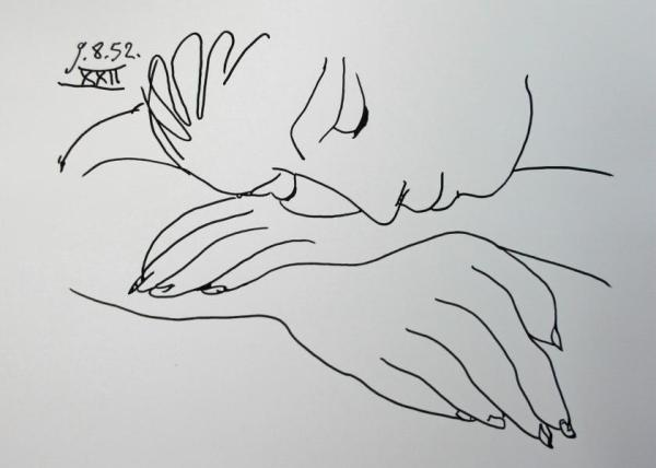 picasso_sleeping woman_2014