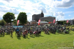 Gentse feesten - met de fiets: ja, maar te weinig parkeerplaatsen!