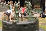 Gentse Feesten dat is spelen in de fontein