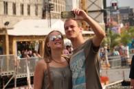 Selfies dat er genomen werden