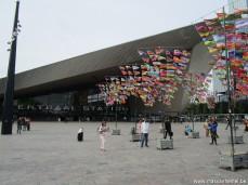 Rotterdam wandeling (Centraal station - Starbucksmok)