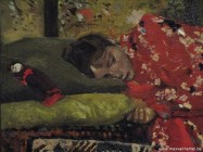 Rijksmuseum - Meisje met rode kimono (detail)