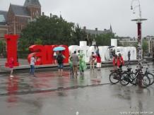 Amsterdam - in de regen