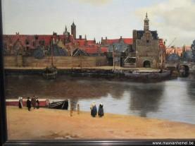 Den Haag - Mauritshuis (zicht op Delft)