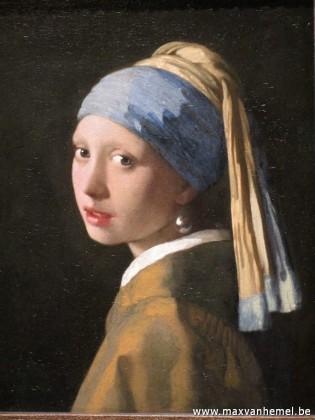 Den Haag - Mauritshuis (meisje met parel)