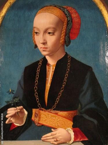 Den Haag - Mauritshuis (portret van een Zuid-Duitse vrouw)