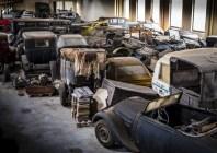 Mahy-garage met old-timers