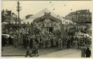 circus op het St-Pietersplein